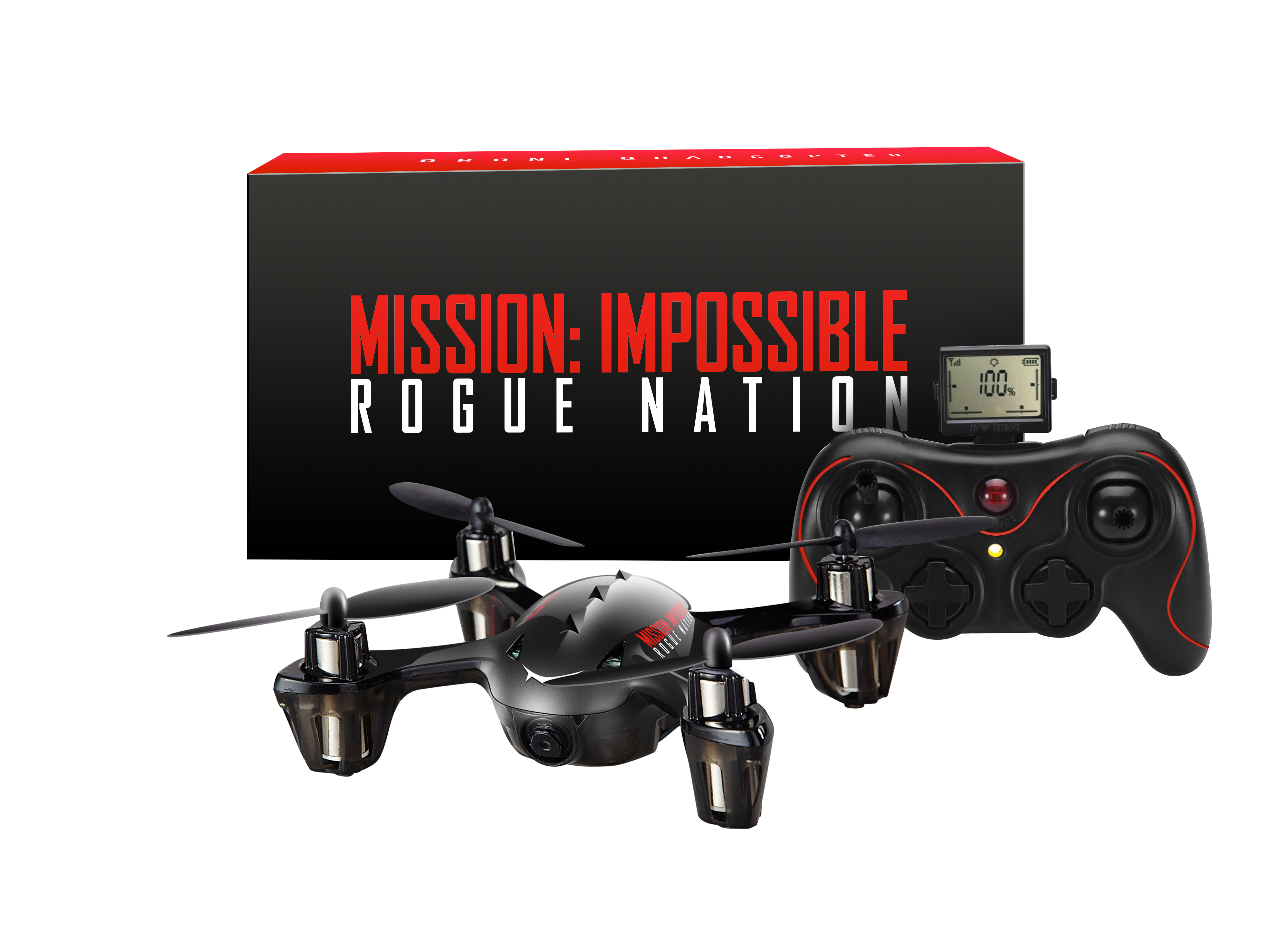 Win 1 Of 5 Mission Impossible Rogue Nation Drone Quad